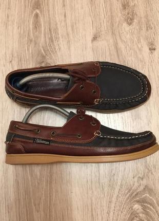 Оригинальные туфли   топсайдеры helmsman