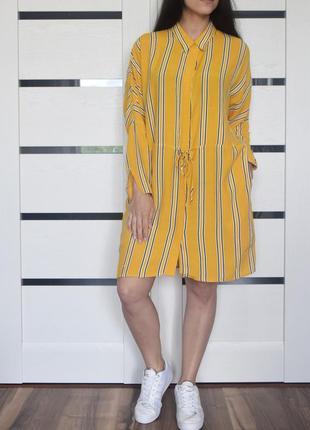 Платье в полоску topshop