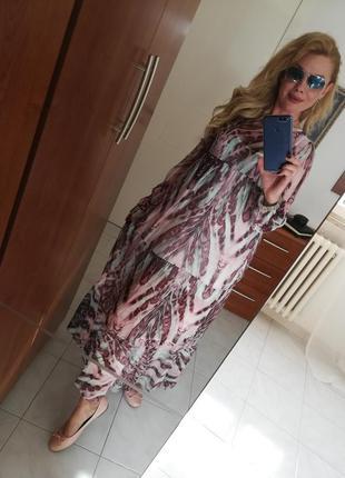 Шелковое платье италия