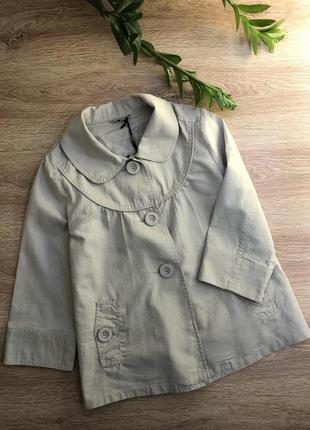 Льняной пиджак m-l