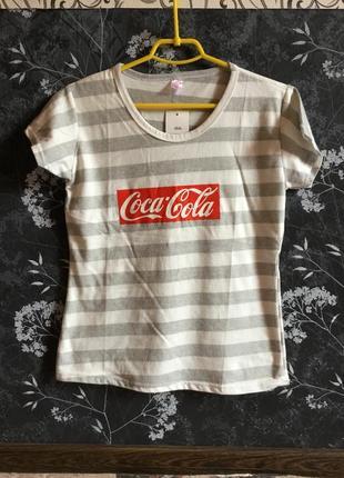 Футболка coca cola