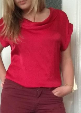 Атласная туника-блуза,12 розмер✓✓