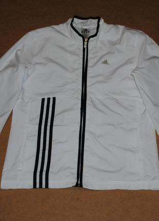 Adidas белая ветровка куртка адидас женская