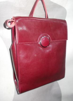 Рюкзак  кожа