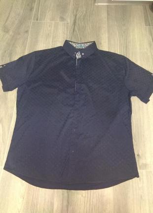 Рубашка с коротким рукавом ( шведка)