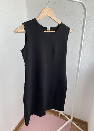 Платья чёрное короткое