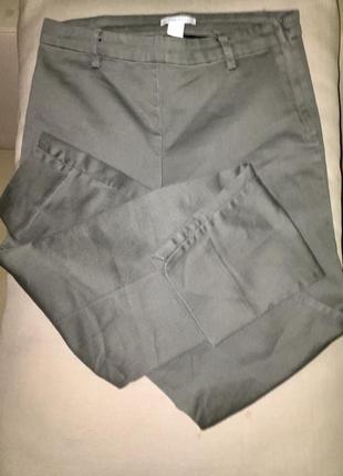 Джеггинсы,слимы,джинсы зауженные стрейчевые серо-зелёного цвета.
