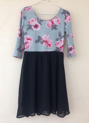 Милое весеннее платье h&m 38р.