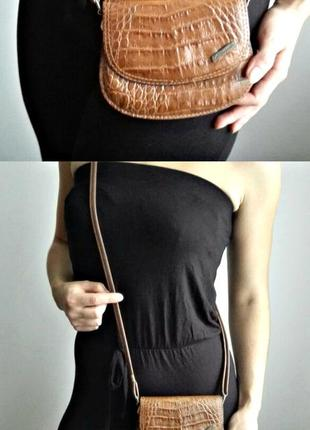 Маленька шкіряна сумочка 👜