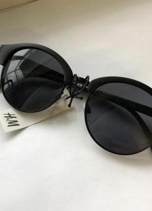 Чёрные солнцезащитные 👓 очки h&m
