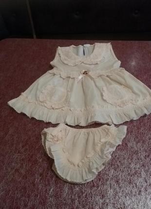 Нарядное платье лето