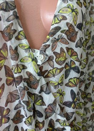 Классная фирменная блуза.  46-48р1 фото
