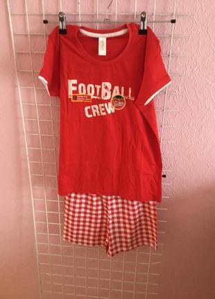 Летняя пижама для мальчиков  на рост 116-122