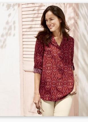 Красивая блуза, блузка прямого кроя, рубашка esmara