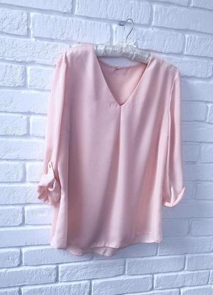 ❗️❗️ смотри другие объявления!❗️❗️ невозможно красивая блузка нежно персикового цвета