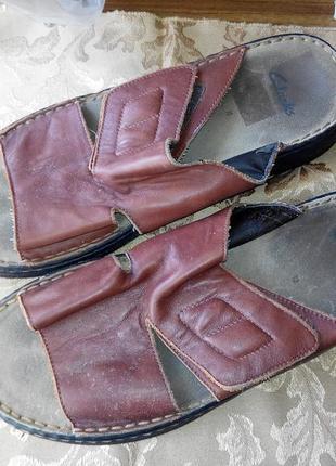 Тапки шлепки босоножки сандалии мужские сlarks 45 295 мм