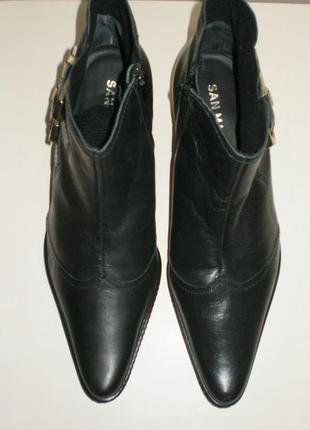 Кожаные ботинки  san marina (сан марина)3 фото