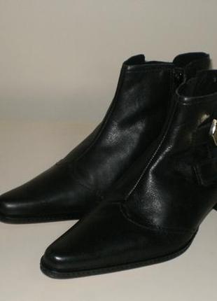 Кожаные ботинки  san marina (сан марина)4 фото