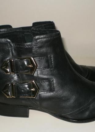 Кожаные ботинки  san marina (сан марина)6 фото
