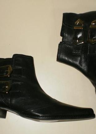 Кожаные ботинки  san marina (сан марина)8 фото