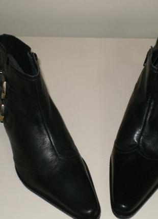 Кожаные ботинки  san marina (сан марина)