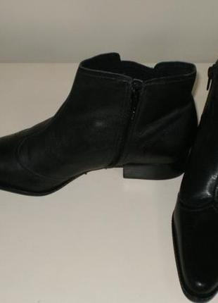 Кожаные ботинки  san marina (сан марина)9 фото