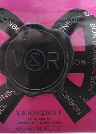 Viktor & rolf bonbon парфюмированная вода 90 мл.роскошный флакон