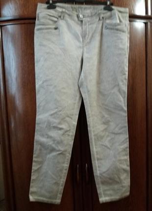 Стрейчевые джинсы варенки-street one отлично тянутся.  xxl