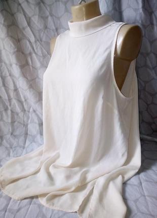 Блуза без рукав