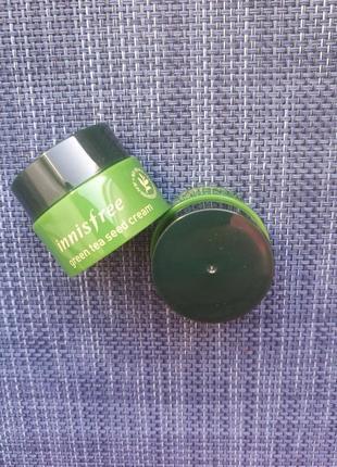 Крем для комбинированной кожи innisfree the green tea seed cream мини версия
