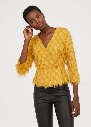 Стильная блуза с бахромой1