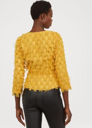 Стильная блуза с бахромой12 фото