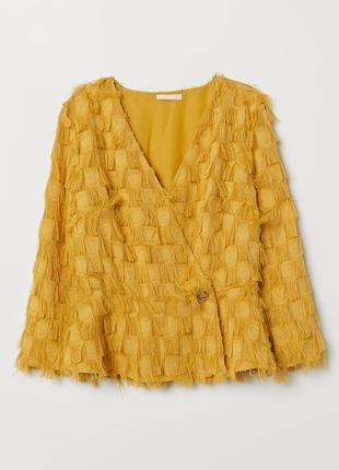Стильная блуза с бахромой14 фото
