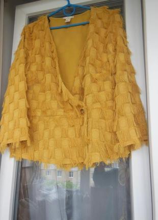 Стильная блуза с бахромой15 фото