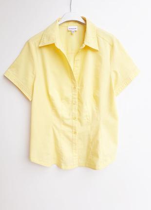 Яркая рубашечка с коротким рукавом блузочка от biaggini