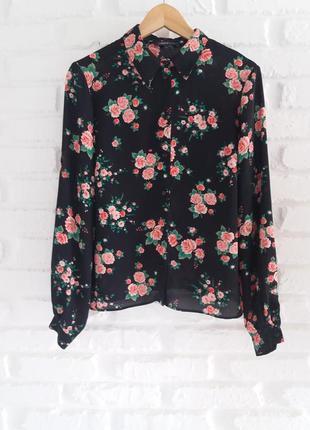 Рубашка блуза m&s 14 ( xl )    5.28