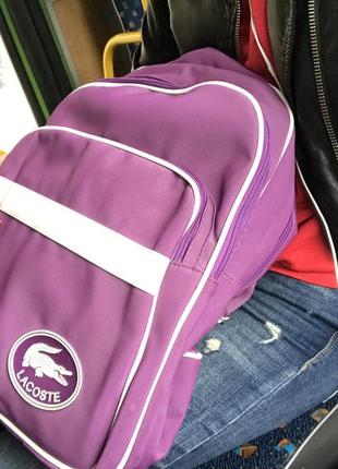Рюкзак lacoste6 фото