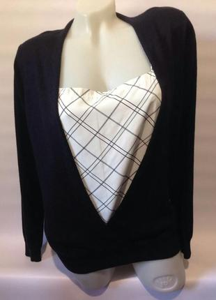 Кардиган+блузка f&f