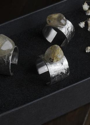 Крутейшие кольца из стали и кварца