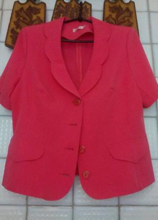 Пиджачок с коротким рукавом.