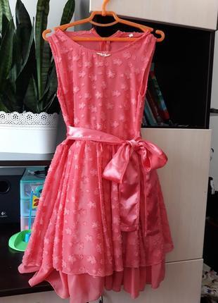 Легкое летнее платье для девочки 128-134 рр