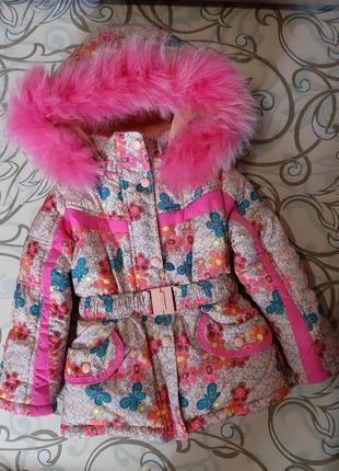 Куртка зимняя 98-104 р.