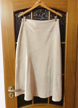 Бархатная женская юбка