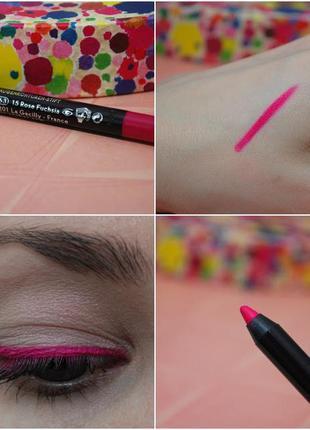 Новый карандаш для контура глаз растительный цвет 82363 фуксия