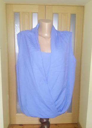 Изумительная блуза обманка большой размер