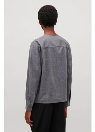 Стильный жакет, пиджак,блейзер, куртка из шерсти cos