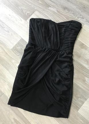 Чёрное платье от zara