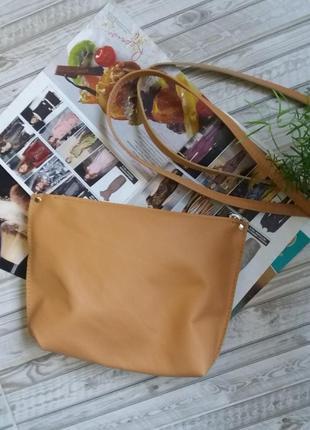 Кожаный клатч. 100 натуральная кожа (италия)