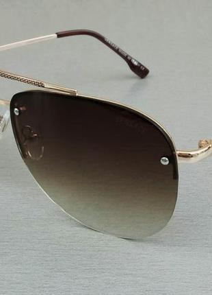 Versace очки капли унисекс солнцезащитные с градиентом