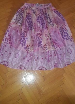 Пышная легкая  яркая юбка  mia moda